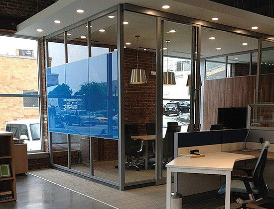 Project management for Office interior design services
